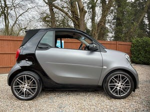 2017 smart ForTwo BRABUS Xclusive Cabrio 6-Speed DCT Auto For Sale (picture 3 of 12)