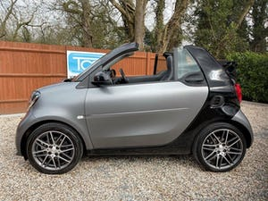 2017 smart ForTwo BRABUS Xclusive Cabrio 6-Speed DCT Auto For Sale (picture 4 of 12)