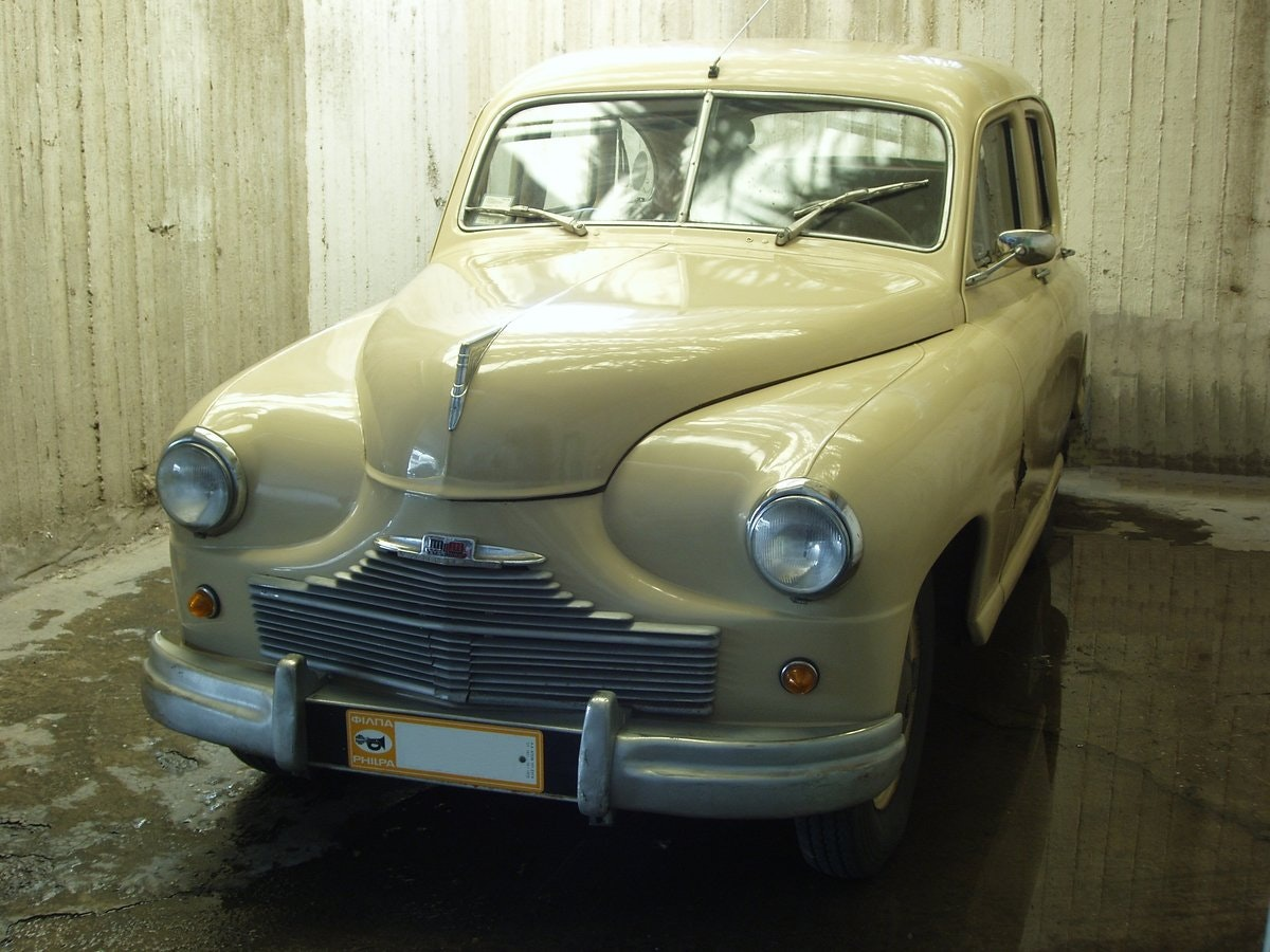 1948 Standard Vanguard, all original SOLD (picture 1 of 6)