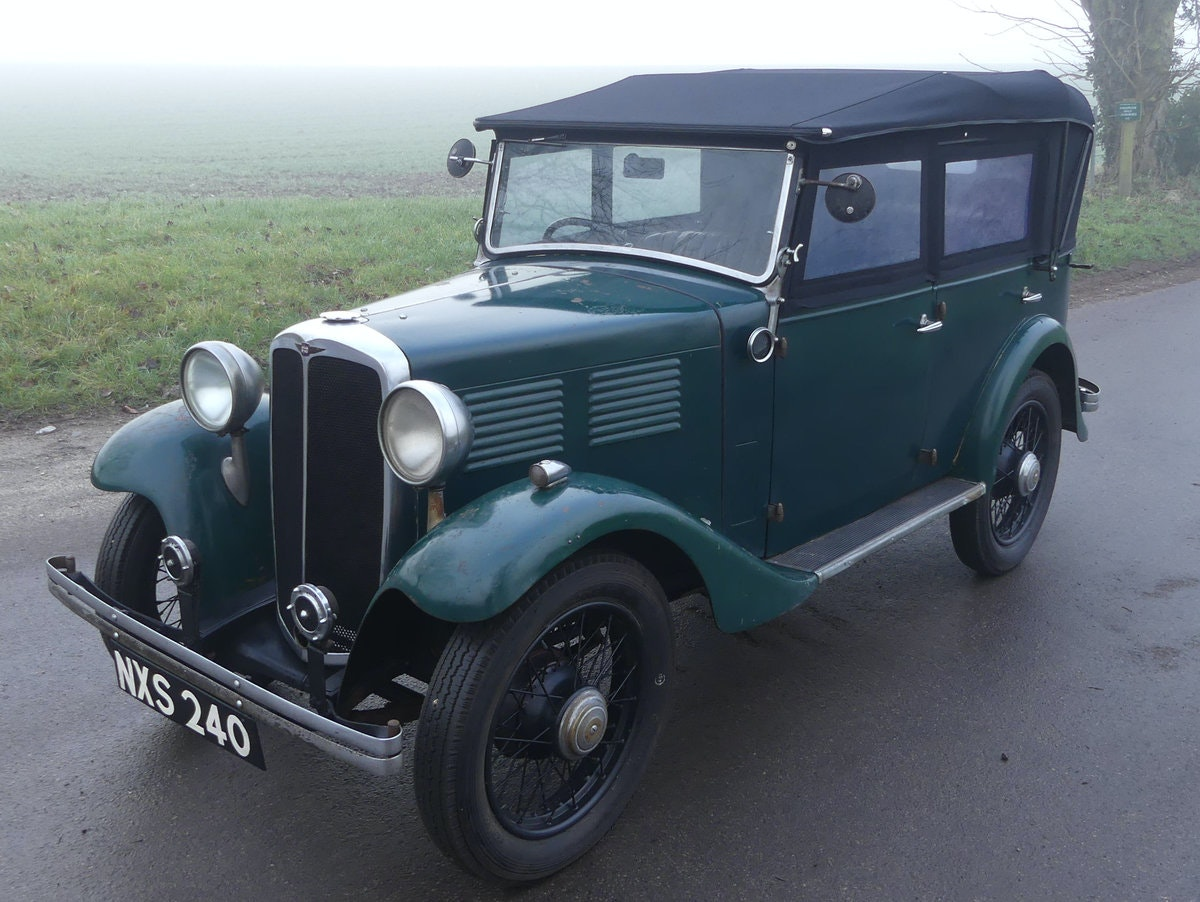 1933 Standard Little Nine Four Seater Tourer For Sale (picture 1 of 12)