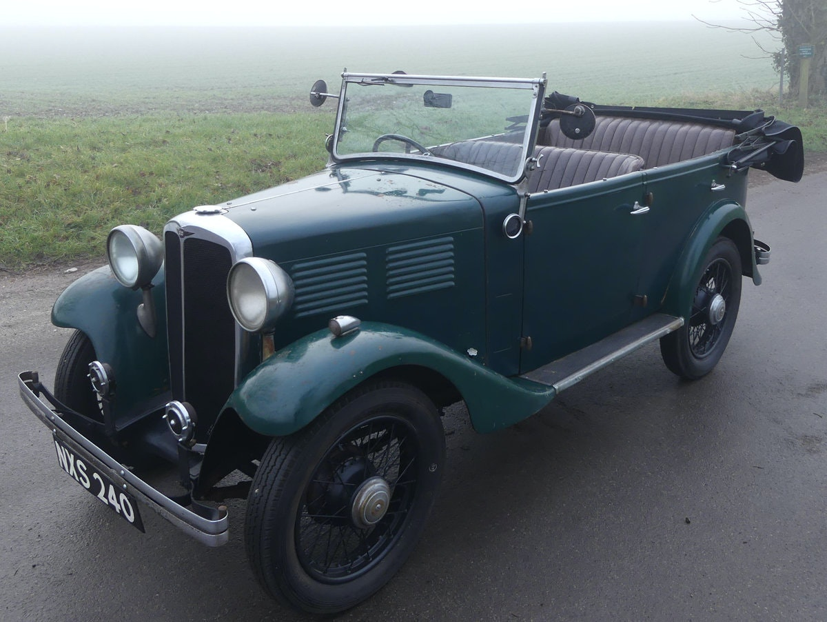 1933 Standard Little Nine Four Seater Tourer For Sale (picture 2 of 12)