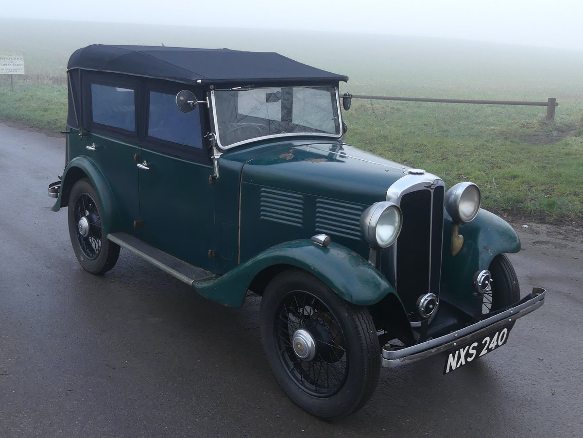 1933 Standard Little Nine Four Seater Tourer For Sale (picture 3 of 12)