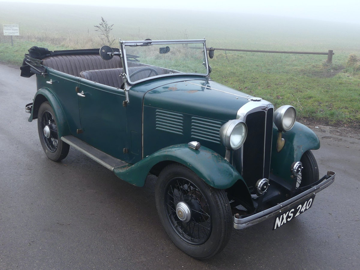 1933 Standard Little Nine Four Seater Tourer For Sale (picture 4 of 12)