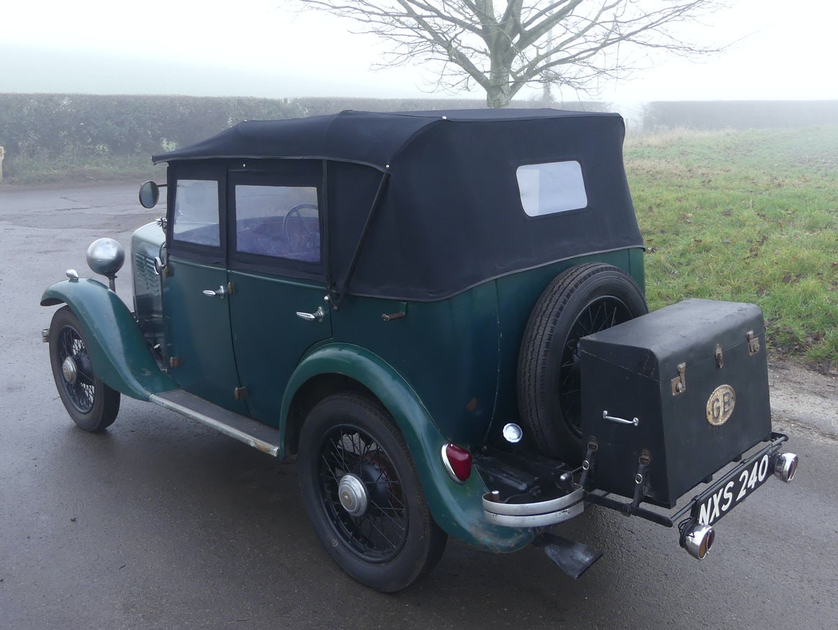 1933 Standard Little Nine Four Seater Tourer For Sale (picture 6 of 12)
