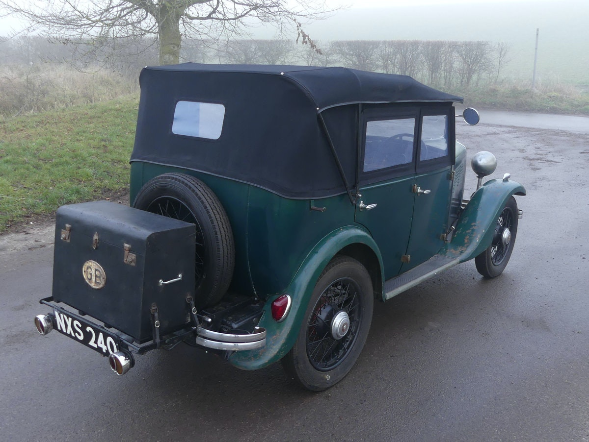 1933 Standard Little Nine Four Seater Tourer For Sale (picture 7 of 12)