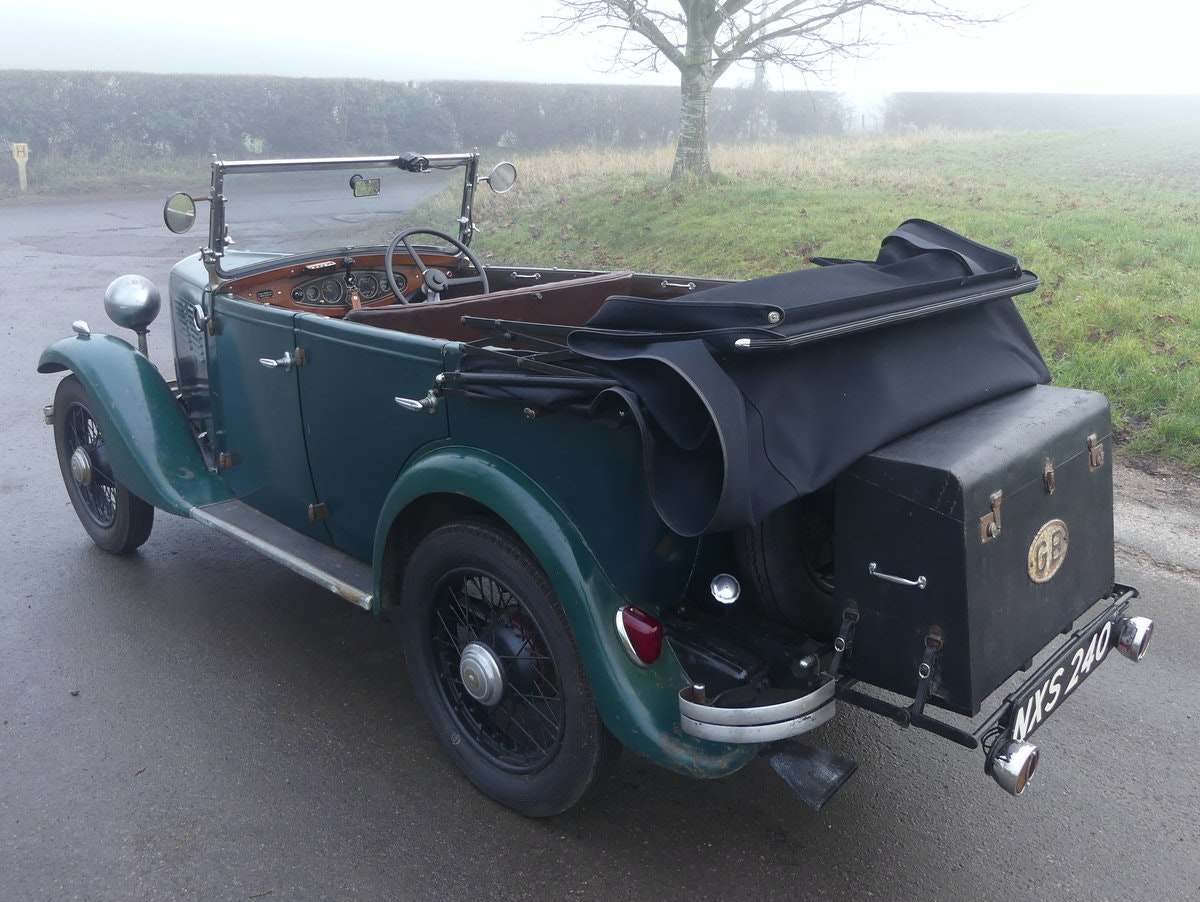 1933 Standard Little Nine Four Seater Tourer For Sale (picture 8 of 12)