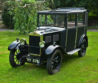 Picture of 1927 Standard Nine Falmouth Riviera Weyman Saloon. For Sale