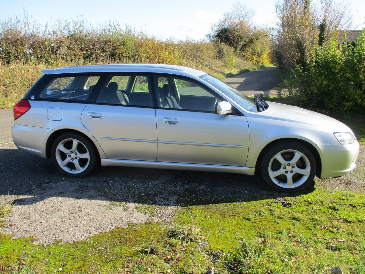 2003 Subaru Legacy GT Turbo Estate Automatic SOLD (picture 3 of 6)