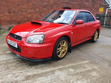 Picture of 2003 Subaru Impreza STI Spec c LTD in red only 100 made in Red For Sale