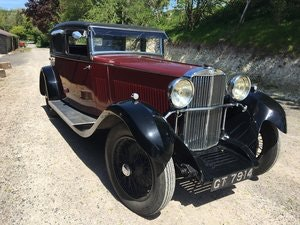 Picture of 1931 Sunbeam 23.8 hp Weymann Sports Saloon Reserved SOLD