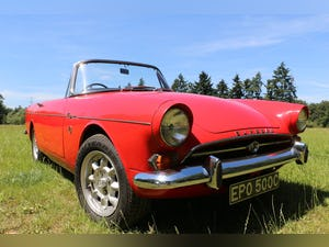 1965 Sunbeam Tiger for self drive hire For Hire (picture 2 of 6)