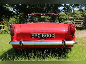 1965 Sunbeam Tiger for self drive hire For Hire (picture 5 of 6)