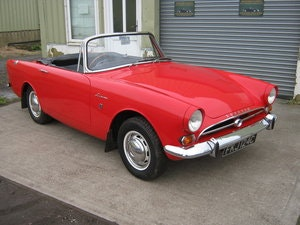 Picture of 1965 SUNBEAM ALPINE SERIES 4 1600CC. CARNIVAL RED. OVERDRIVE SOLD