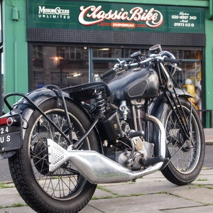 Picture of 1937 Sunbeam 350 Model 8 Rare Vintage, In Nice Oily Rag & Running For Sale