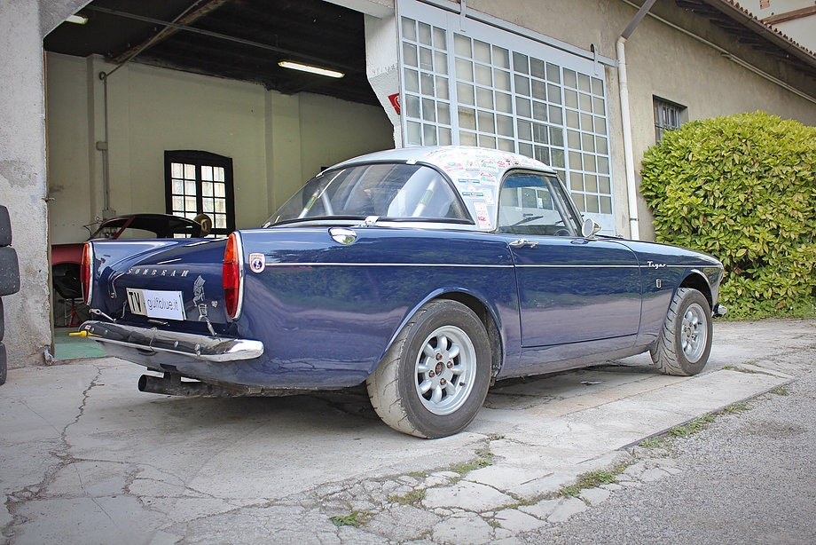 1965 Sunbeam Tiger FIA rally car For Sale (picture 2 of 12)