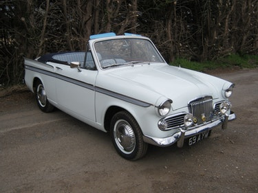 Picture of 1960 SUNBEAM RAPIER SERIES 3 CONVERTIBLE 69 AYM For Sale