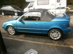 1993 Suzuki cultus convertible 1.3 16v 21000 miles only For Sale (picture 5 of 6)