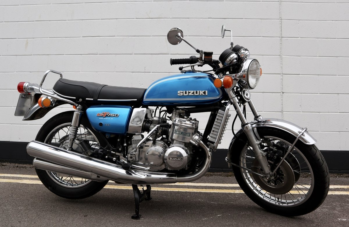 1974 Suzuki GT750 - An Excellent Example ! SOLD (picture 1 of 6)