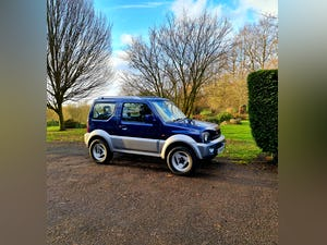 2004 Suzuki jimny mode! Blue/silver! 81k miles! For Sale (picture 1 of 12)