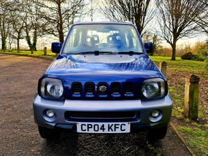 2004 Suzuki jimny mode! Blue/silver! 81k miles! For Sale (picture 2 of 12)