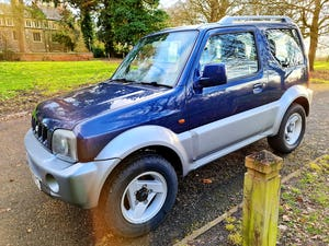 2004 Suzuki jimny mode! Blue/silver! 81k miles! For Sale (picture 7 of 12)