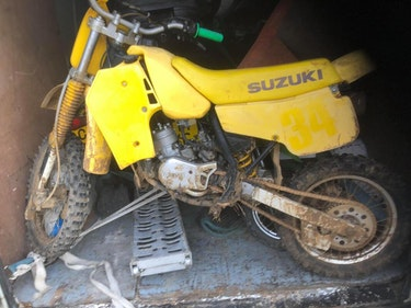 Picture of 1986 Suzuki RM 80, £850 as is or £1495 fully rebuilt. SOLD
