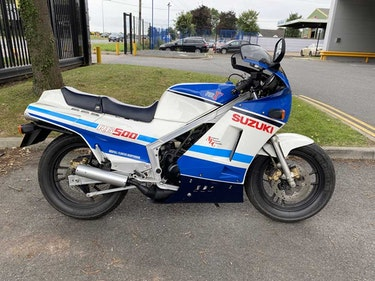 Picture of 1987 Suzuki RG 500- One owner and 3,085 miles from new For Sale by Auction