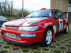 1993 Toyota 1.3 Corolla World Rally Replica ideal promotional car For Sale (picture 6 of 6)