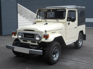 1978 TOYOTA LAND CRUISER FJ40 softtop petrol For Sale (picture 2 of 21)