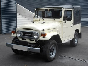 1978 TOYOTA LAND CRUISER FJ40 softtop petrol For Sale (picture 1 of 21)