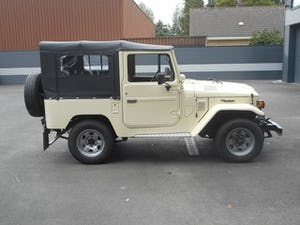 1978 TOYOTA LAND CRUISER FJ40 softtop petrol For Sale (picture 16 of 21)
