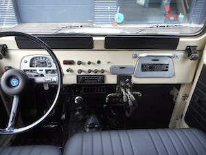 1978 TOYOTA LAND CRUISER FJ40 softtop petrol For Sale (picture 20 of 21)