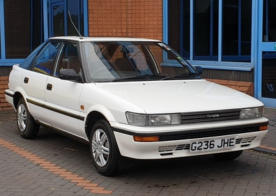 Picture of 1989 Toyota Corolla 1.3 GL last owner since 1992 For Sale