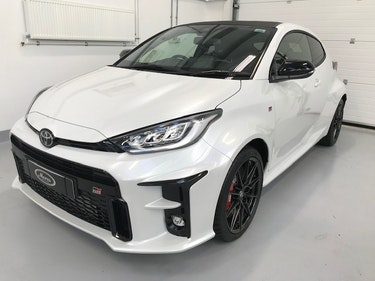 Picture of 2021 Toyota Yaris GR Four, Pearl White, Circuit Pack 15, Delivery For Sale