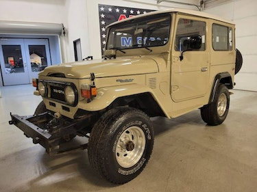 Picture of 1978 Toyota Land Cruiser V8 P/S P/B A/C FJ40 LV-KCJA SUV 4 For Sale