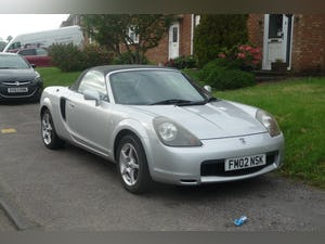 2002 TOYOTA MR2 1.8 VVTI CONVERTIBLE  (IDEAL EXPORT) For Sale (picture 1 of 5)