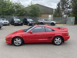 1993 LOVELY  FSH  LOW  MILES  MR2GT  UK  CAR For Sale (picture 2 of 8)