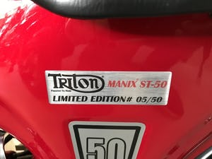 2019 Triton Manix ST-50 Limited Edition #05/50 For Sale (picture 4 of 6)