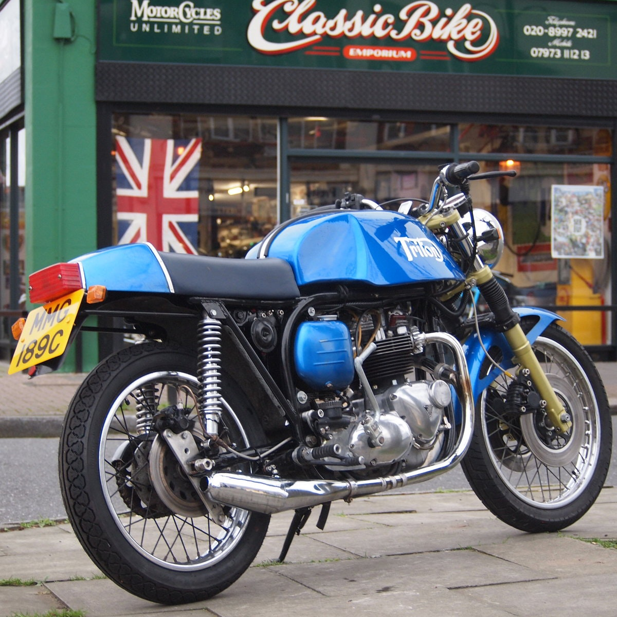 1965 Triumph Triton Featherbed Framed, RESERVED FOR NORMAN. SOLD (picture 1 of 6)