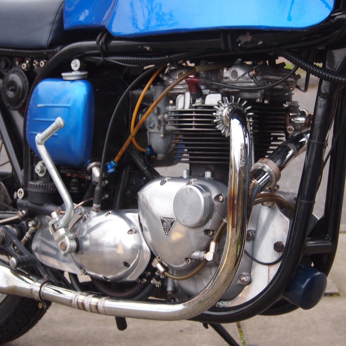1965 Triumph Triton Featherbed Framed, RESERVED FOR NORMAN. SOLD (picture 2 of 6)