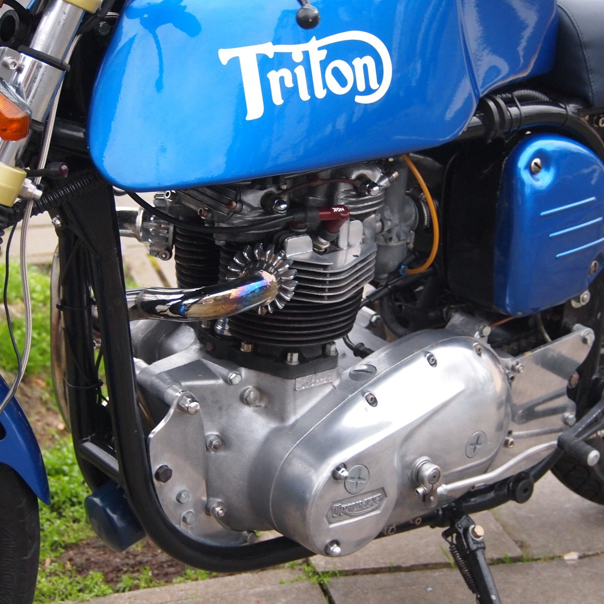 1965 Triumph Triton Featherbed Framed, RESERVED FOR NORMAN. SOLD (picture 4 of 6)
