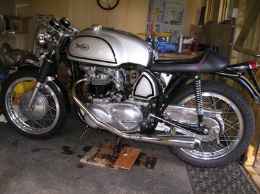Picture of 1957 Original Rocker boys Triton.Now price reduced. For Sale