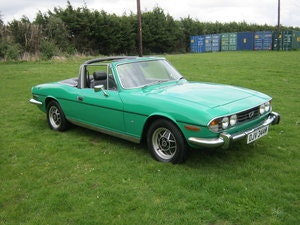 Picture of 1974 TRIUMPH STAG AUTO WITH ORIGINAL V8/HARDTOP. JAVA GREEN SOLD