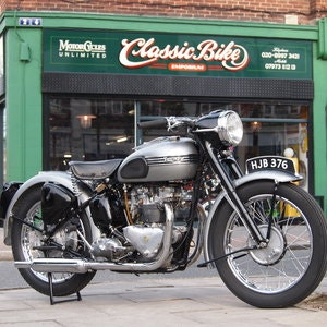 Picture of 1952 T100 Tiger 499cc Sprung Hub, RESERVED FOR ANDREW. SOLD