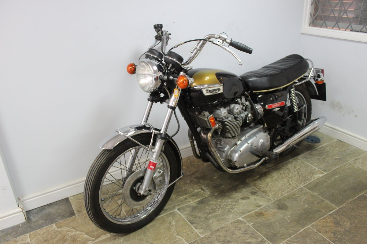 1973 Triumph Trident T150 V 750 cc Matching Numbers SOLD (picture 6 of 6)