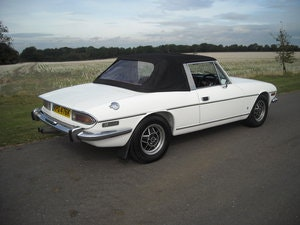 Picture of 1972 TRIUMPH STAG MK1 MANUAL O/D BODY COLOUR UNDERSIDE SOLD