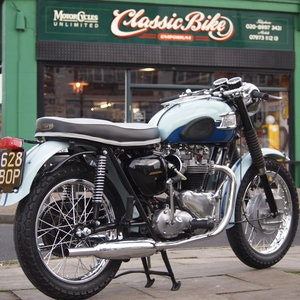 Picture of 1960 T120 650cc Pre Unit, Duplex Frame, SOLD TO TONY. SOLD