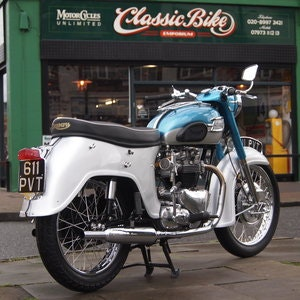 Picture of 1961 Triumph Tiger T110 650/750 It Goes Like a Rocket. For Sale