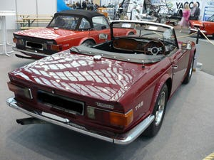 1969 '69 TR6 PI, Rare opportunity to bring back home For Sale (picture 2 of 6)