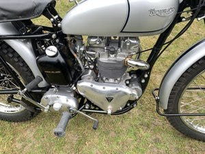1951 TRIUMPH TROPHY TR5 Famous Rider/Owner 07957 575 575 For Sale (picture 5 of 12)